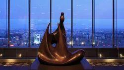 FRP Abstract Krishna Sculpture