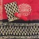 Fk Textile Cotton Batik Unstitched Salwar Suits, Handwash