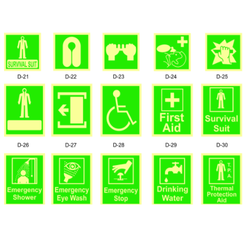 Emergency Safety Signages