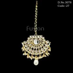 Kundan Designer Wedding Tikka