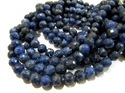Natural Silver Coated Labradorite Gemstone Beads