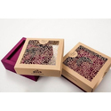 Square Designer Dry Fruit Gift Box
