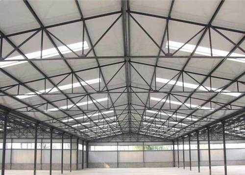 Pvc Industrial Sheds Rs 220 Squre Feet Spangle Steel