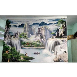 Waterfall Roller Blind