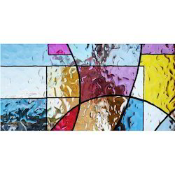 Decorative Stained Glass, Thickness: 10-12 Mm