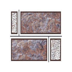 Gloss Punch Elevation Series Tiles, Size: 450mm X 300mm