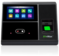 Biomax No Touch N-Uface 602 Face Attendance Device