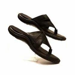 Men Fancy Leather Slipper, Size: 7-11