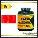 High Protein Rapid Weight Gainer, Packaging Size: 500 Gm