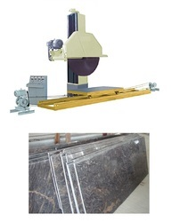 Lime Stone and Laterite Stone Block Cutting Machine