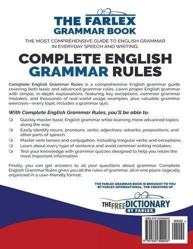 English Grammar Test Quiz With Answers