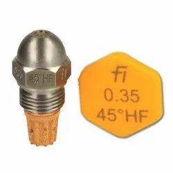 Fluidics Burner Nozzle 45 Drgree HF