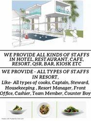 Resort Staffing Services & Staff Supplier
