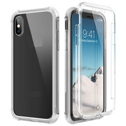Transparent Polyurethane iPhone XS Mobile Back Cover