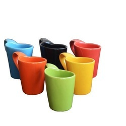 Multi Colored Coffee Cup Set