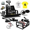 Mybestow 5 In 1 Combo Heat Press Machine
