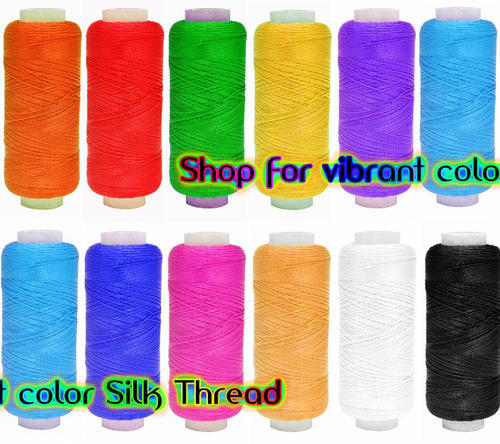 Silk Thread Material Or Embroidery Material Silk Thread All