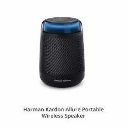Black Harman Kardon Allure Portable Wireless Speaker, 20 Watts