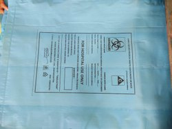 INDUSTRIN Biodegradable Biomedical Waste Collection Bag, Capacity: 30-60 Litre