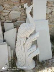 Stone bird statue