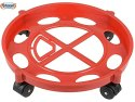 Heavy Plastic Gas Cylinder Trolley with Wheel