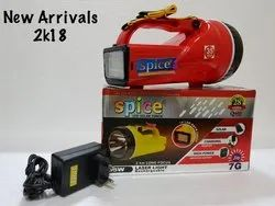 rechargeable torch (Model-Jio) , (Brand-Spice)
