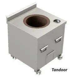 Stainless Steel Square Charcoal Tandoor, For Hotel, Capacity: Size : 24x24