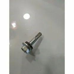 Silver Self Drill Screw