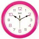 Pink Ajanta Wall Clock