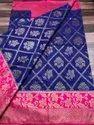 Banarasi Kora Muslin Saree