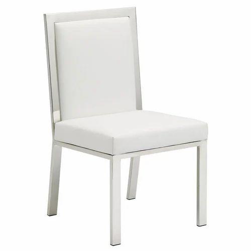 White Cushion Wooden Chair Rs 4500 Number Sabari Furniture Id