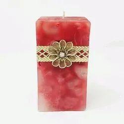 方形支柱蜡烛