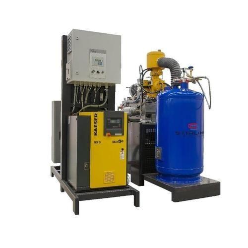 Stirling 8 KW StirLITE Liquid Nitrogen Production System