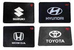 汽车仪表板硅胶防/非滑垫垫汽车仪表板与汽车徽标