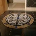 Monarch Crafts Marble Inlaid Center Flooring, Thickness: 15-20 Mm