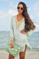 Beaded Tunic Tops