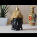 Polyresin Decorative Buddha Head For Corporate Gifts