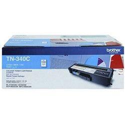 Brother TN 340C Cyan Toner Cartridge