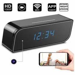 table clock spy camera