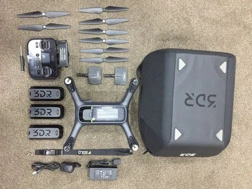 3dr Solo Drone ,gimbal, Gopro Hero Silver,carry Case,spare Battery