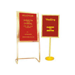Lobby Function Stand Board