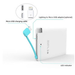 Card Shape Power Bank