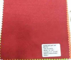 100% Polyester Micro Dot Knit Fabrics 140 GSM