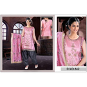 Party Wear Designer Ladies Silk Suits, Size: S-XXL