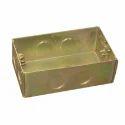 Rectangular Metal Electrical Junction Box