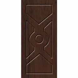 Brown Wooden Hinged Door