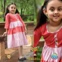 Casual Wear Girl Designer Kids Wear, Age: 4-10year