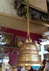 brass bell, 1kg, Size: 5inch