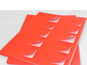 Die Cut Sticker Sheets A4