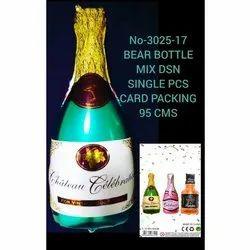 Champagne Bottle Foil Balloons